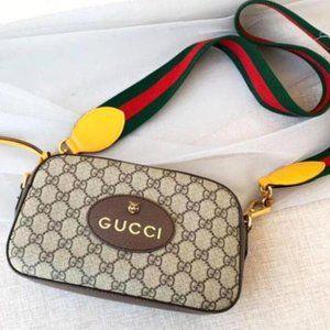 NWT💋Authentic💋GUCCI💋Messenger Supreme Neo Vintage Shoulder Bag